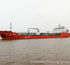 The 28,000 DWT chemicalproduct oil tanker successfully launched which installed with Huanggong Hydraulic cargo pump,